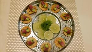 Tuna-Papadum
